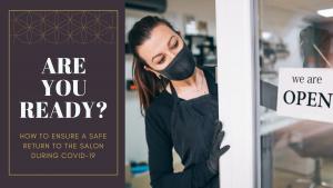 Salon Reopening COVID-19